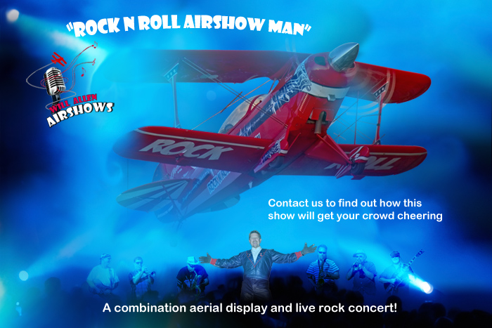 Rock n Roll Airshow Man